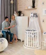 Swing Pendulum - Mécanisme de balançoire pour lit bébé - sans lit